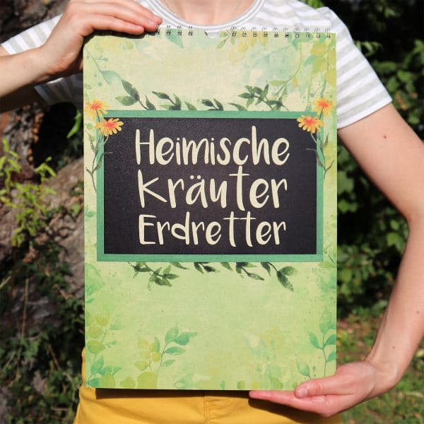 Kräuterkalender Heimische Kräuter Cover