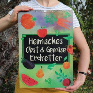 Saisonaler Kalender Obst und Gemüse Cover